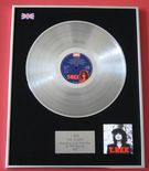 T.REX MARC BOLAN - THE SLIDER PLATINUM LP Presentation DISC